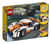 LEGO Creator 3-in-1 31089 Zonsondergang baanracer-Linkerzijde