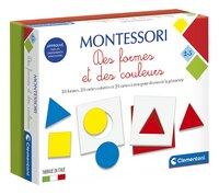Montessori Des formes et des couleurs-Côté gauche