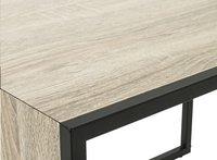 Haku-Möbel table d'appoint Sandro cube chêne-Détail de l'article