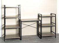 Haku-Möbel étagère Sandro 3 planches chêne-Image 1
