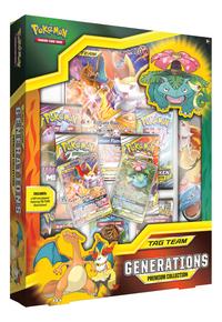 Pokémon Trading Cards Tag Team Generations Premium Collection ANG-Côté gauche