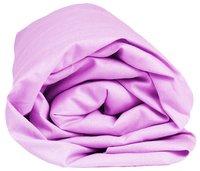 Sleepnight drap-housse lilas en jersey de coton 140 x 200 cm-Détail de l'article