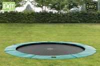 EXIT trampoline enterré Supreme Ground diamètre 305 cm-Image 1