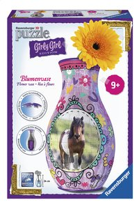 Ravensburger 3D-puzzel Girly Girl bloemenvaas paarden