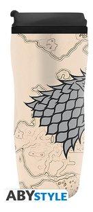 Travel Mug Game of Thrones Winter is Coming-Linkerzijde