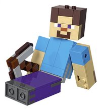 LEGO Minecraft 21148 BigFig Steve met papegaai-Artikeldetail