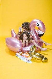 Swim Essentials luchtmatras voor 1 persoon flamingo-Afbeelding 1