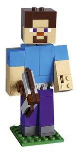 LEGO Minecraft 21148 BigFig Steve met papegaai-Vooraanzicht