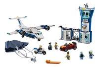 LEGO City 60210 Luchtpolitie luchtmachtbasis-Vooraanzicht