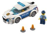 LEGO City 60239 Politiepatrouille auto-Vooraanzicht