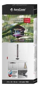 AeroCover Beschermhoes voor parasol 215 x 30/40 cm polyester-Rechterzijde