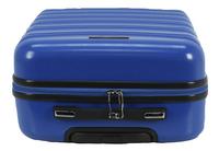 Transworld Set de valises rigides Feel Good Spinner dark blue-Vue du haut