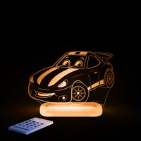 Aloka veilleuse Sleepy Lights Race Car