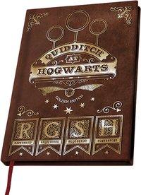 Notitieboekje A5 Harry Potter Quidditch at Hogwarts-Vooraanzicht