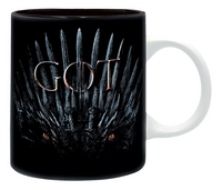 Mok Game of Thrones For the Throne-Vooraanzicht