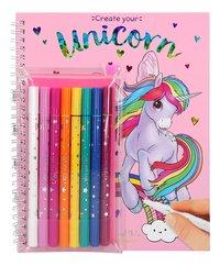 Kleurboek Ylvi & the Minimoomis Create your unicorn-Vooraanzicht