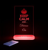 Aloka veilleuse Sleepy Lights Keep Calm & Dream On