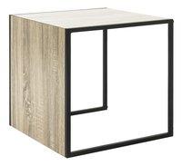 Haku-Möbel table d'appoint Sandro cube chêne-Côté gauche