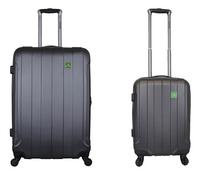 Saxoline set van 2 harde koffers in antraciet-Vooraanzicht