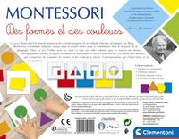 Montessori Des formes et des couleurs-Arrière