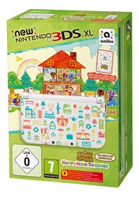 New Nintendo 3DSXL console Animal Crossing: Happy Home Designer Edition + amiibokaart