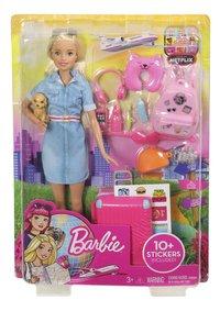Barbie speelset Op reis-Vooraanzicht