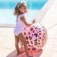 Swim Essentials watersproeier bal Luipaard roze-Afbeelding 1