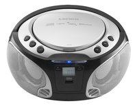 Lenco draagbare radio/cd-speler SCD 550 zilver-Vooraanzicht