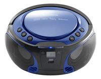 Lenco draagbare radio/cd-speler SCD 550 blauw-Vooraanzicht