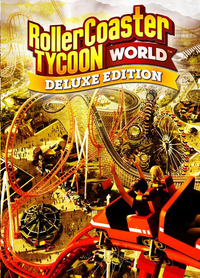 CDROM Roller Coaster Tycoon Deluxe Edition NL/FR