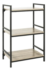 Haku-Möbel étagère Sandro 3 planches chêne-Côté gauche