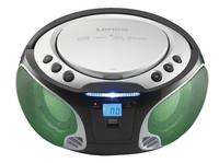 Lenco draagbare radio/cd-speler SCD 550 zilver-Afbeelding 1