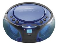 Lenco radio/lecteur CD portable SCD 550 bleu-Image 1