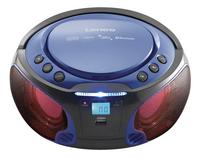 Lenco radio/lecteur CD portable SCD 550 bleu-Image 2
