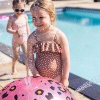 Swim Essentials watersproeier bal Luipaard roze-Afbeelding 2