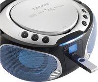 Lenco draagbare radio/cd-speler SCD 550 zilver-Afbeelding 3