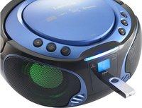 Lenco radio/lecteur CD portable SCD 550 bleu-Image 3