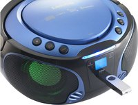 Lenco draagbare radio/cd-speler SCD 550 blauw-Afbeelding 3