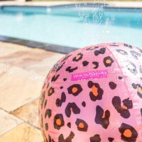 Swim Essentials watersproeier bal Luipaard roze-Afbeelding 3