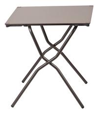 Lafuma Table pliante Anytime taupe L 64 x Lg 68 cm-Avant