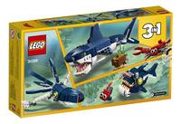 LEGO Creator 3-in-1 31088 Diepzeewezens-Achteraanzicht