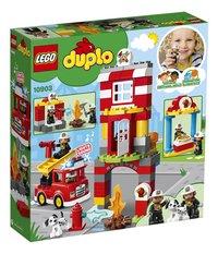 LEGO DUPLO 10903 Brandweerkazerne-Achteraanzicht