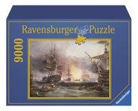 Ravensburger puzzle Le bombardement d'Alger-Avant