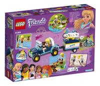 LEGO Friends 41364 Stephanie's buggy en aanhanger-Achteraanzicht