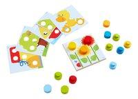 HABA jeu à enficher Monde multicolore-Avant