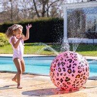 Swim Essentials watersproeier bal Luipaard roze-Afbeelding 4