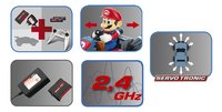 Carrera voiture RC Mario Kart Yoshi-Détail de l'article