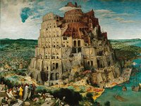 Ravensburger puzzle La construction de la tour de Babel, Bruegel l'Ancien