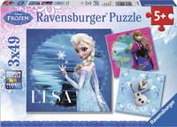 Ravensburger puzzel 3-in-1 Disney Frozen