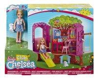 Barbie set de jeu La cabane de Chelsea-Avant